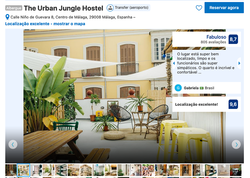The Urban Jungle Hostel